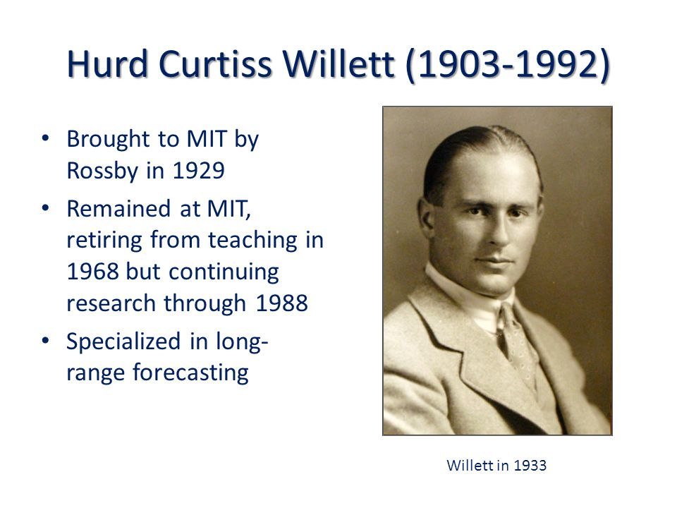Strong Affiliation with Applied Math at MIT: Key Appointments Louis Howard (1955) David Benney (1957) Harvey Greenspan (1960) Joseph Pedlosky (1964) Willem Malkus (1970)