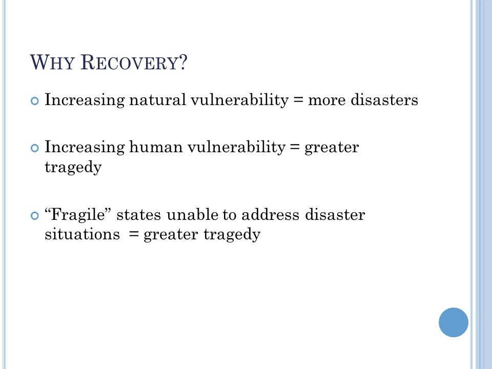 P RESIDENTIAL D ECLARATIONS OF M AJOR D ISASTER AND E MERGENCY A tool for examining disaster recovery A means of educating the public from the county level to state-wide level on the need to engage in disaster mitigation.