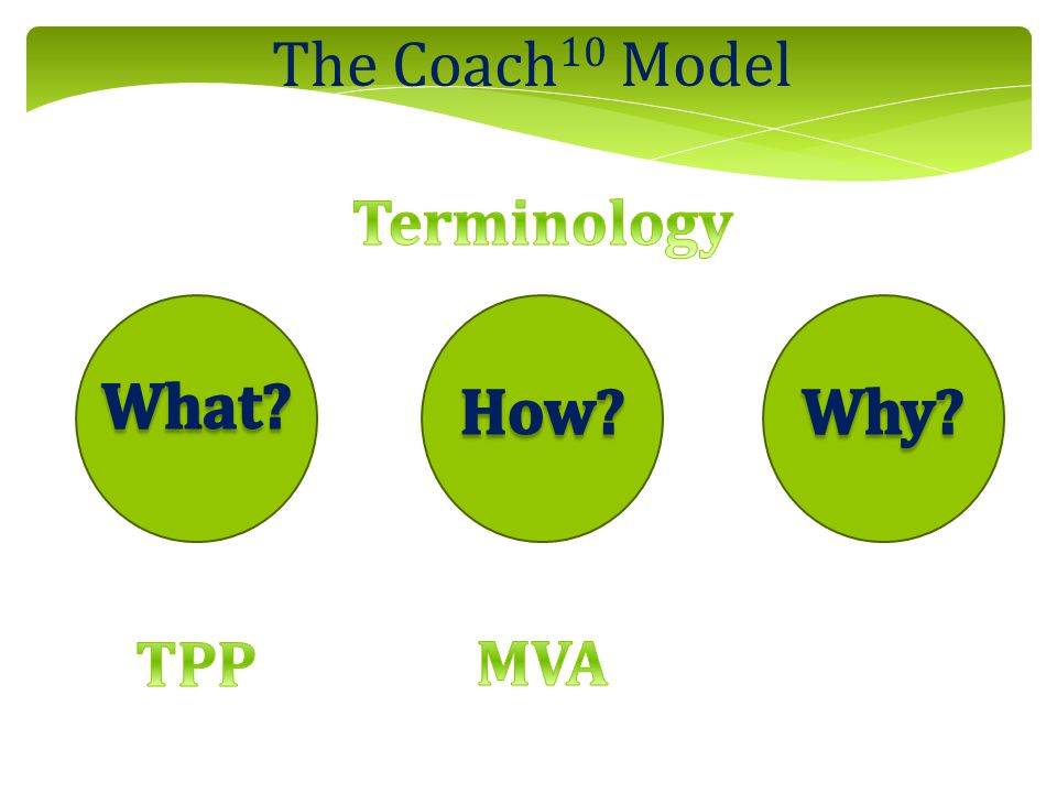 The Coach 10 Model