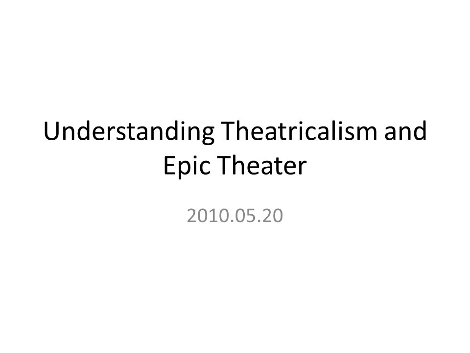 The stage as platform Expressionism in Germany as early as 1912 was highly influential in the arts, most especially in writing and performance styles for the theater.