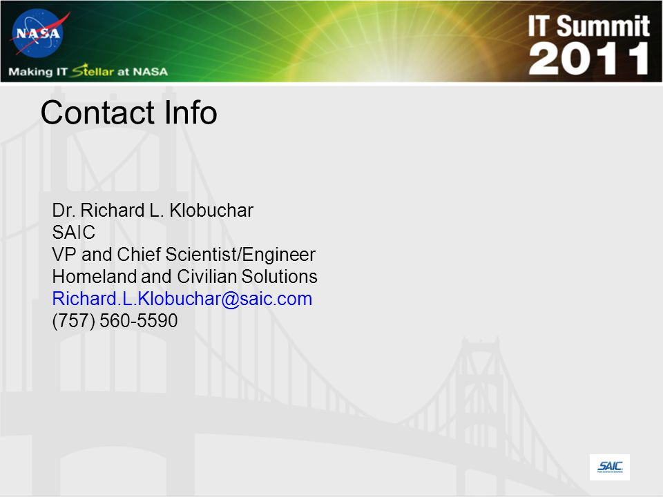 Contact Info Dr. Richard L.