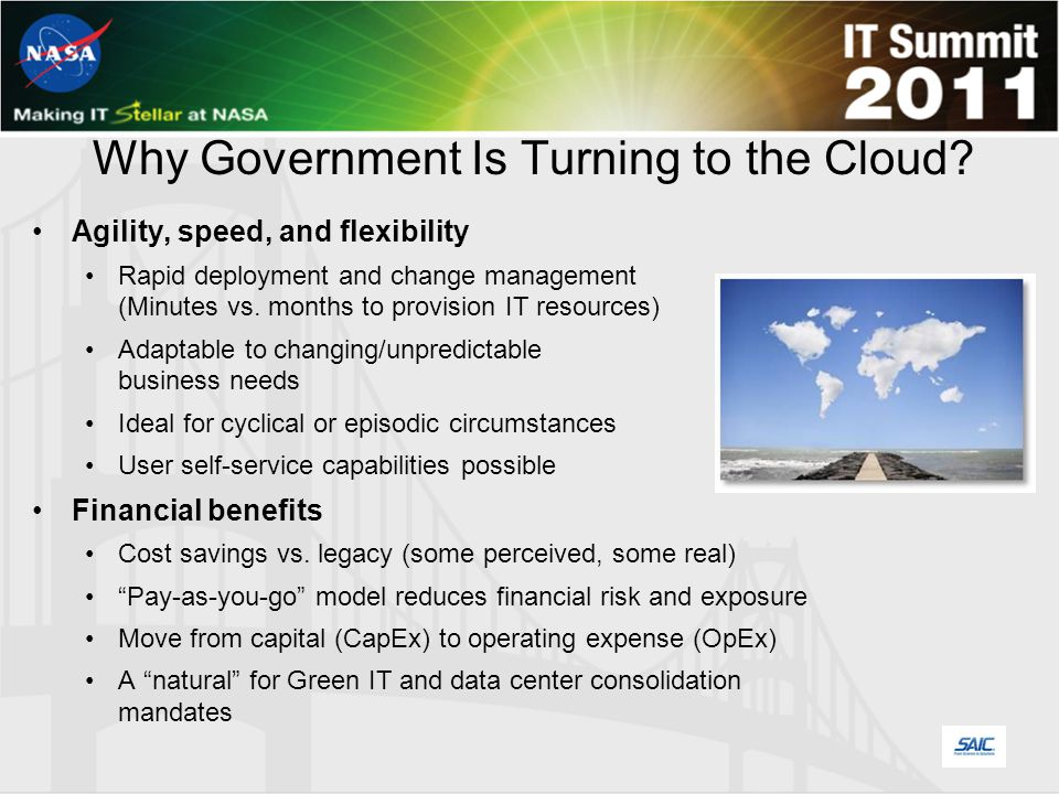 Why Government Is Turning to the Cloud.