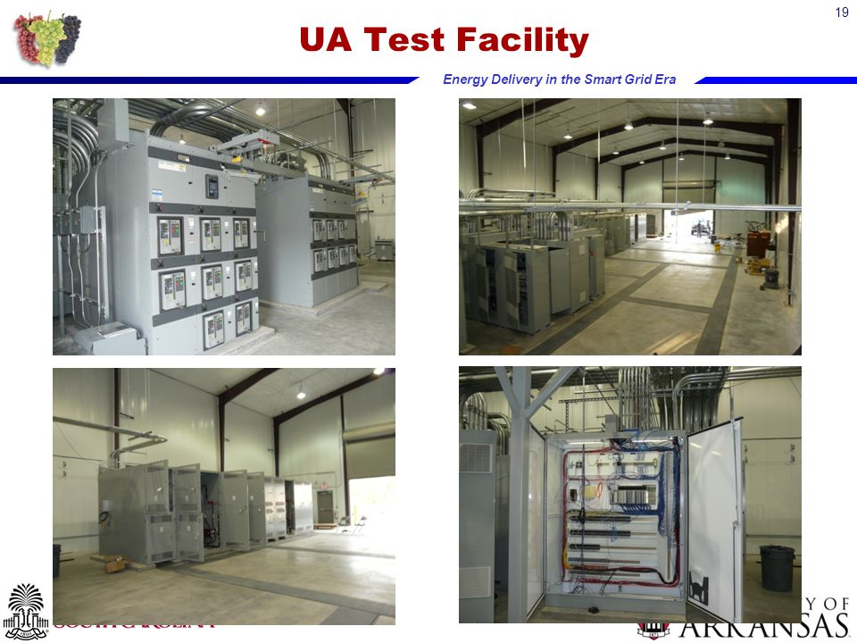 Energy Delivery in the Smart Grid Era UA Test Facility 19