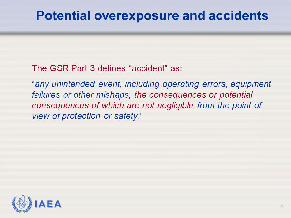 IAEA 35 Determine how similar accidents or incidents can be best avoided in future and recommend corrective measures.