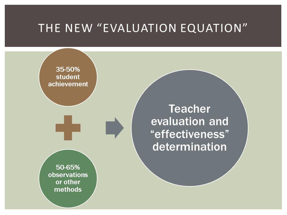 RTTT defines effective teachers in very specific terms.