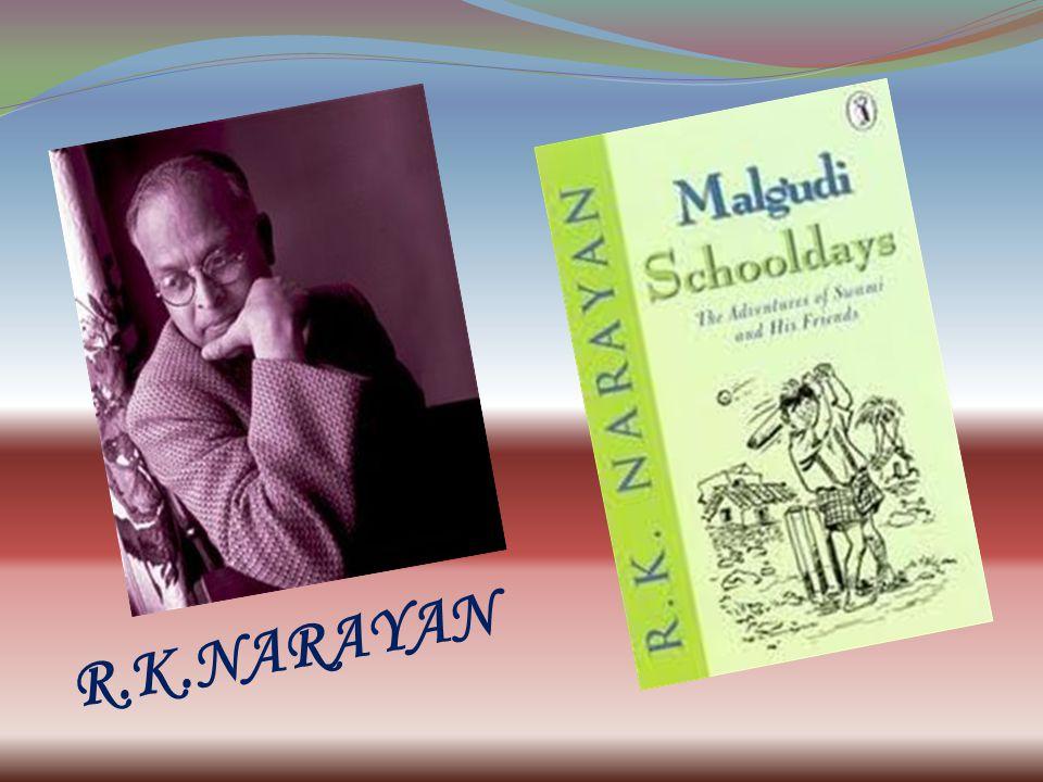 ABOUT THE AUTHOR Rasipuram Krishnaswami Narayanswami, who preferred the shortened name R.K.