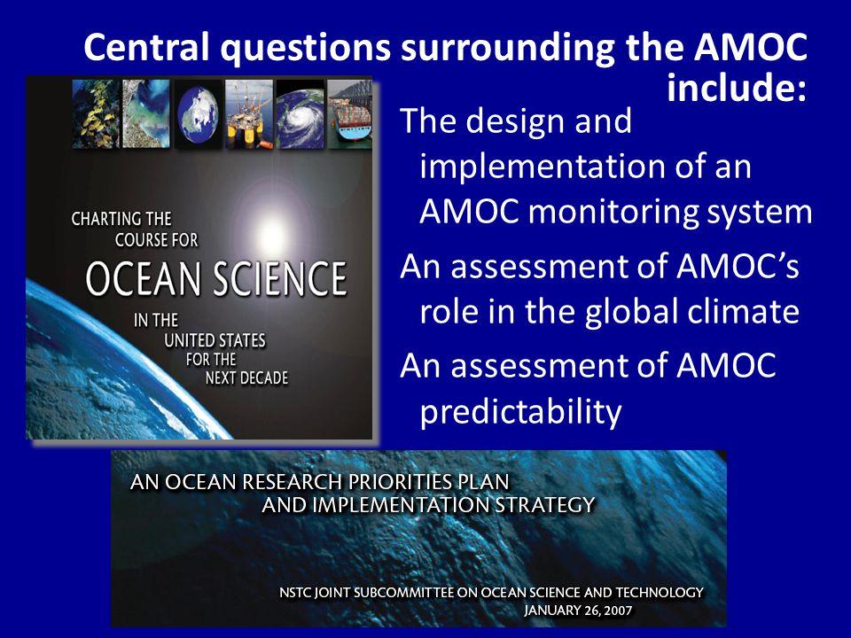Status: AMOC Program Lead P.I.'s Molly Baringer (NOAA.AOML) Amy Bower (WHOI) James Carton (U.