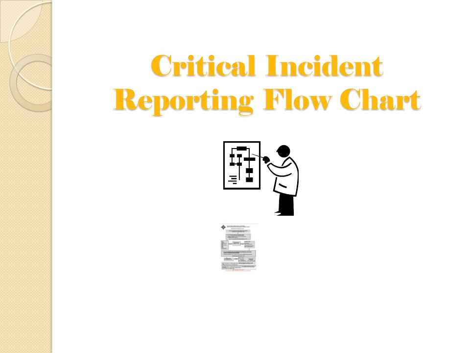 Critical Incident Reporting Flow Chart
