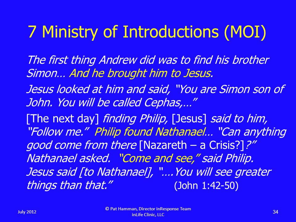 """The first thing Andrew did was to find his brother Simon… And he brought him to Jesus. Jesus looked at him and said, """"You are Simon son of John. You w"""