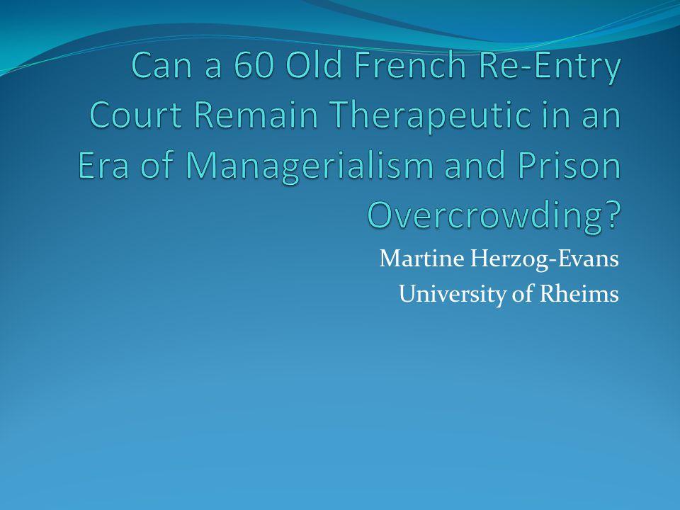 Martine Herzog-Evans University of Rheims