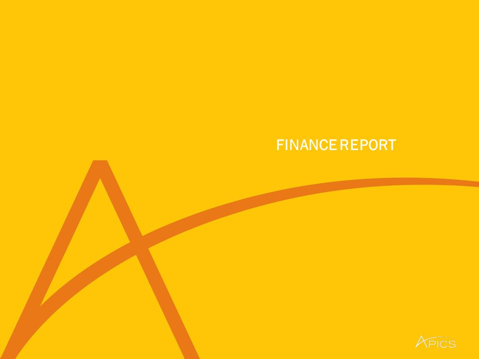5 © APICS Confidential and Proprietary First Quarter Financial Reporting APICS continues to achieve positive financial results.
