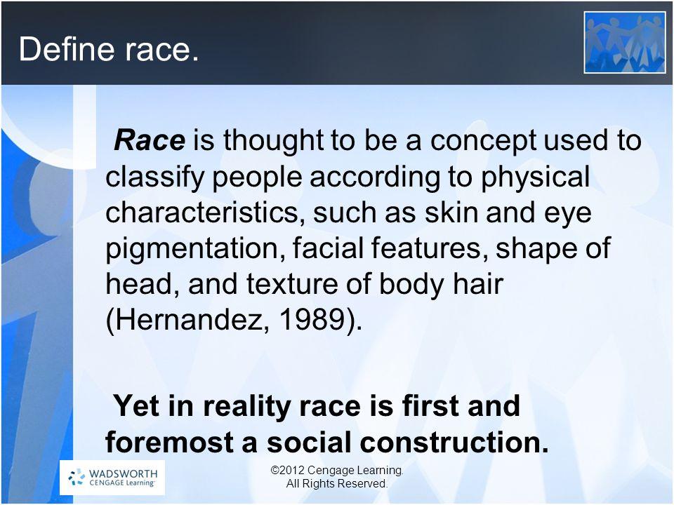 Define race.