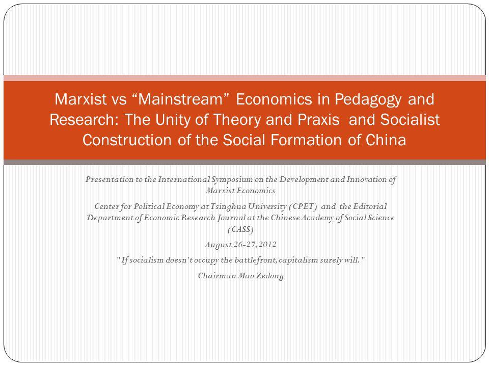 Morphostatic (MSE) versus Morphogenetic (Political Economy) Visions of Capitalism