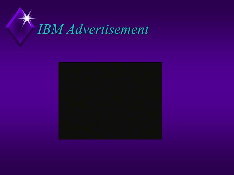 IBM Advertisement