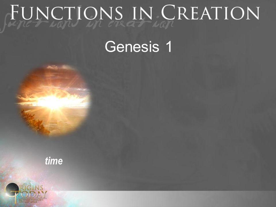 Genesis 1 time