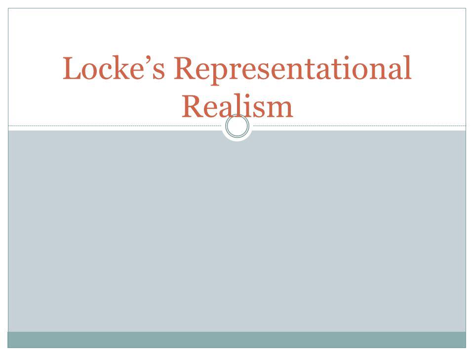 Locke's Representational Realism