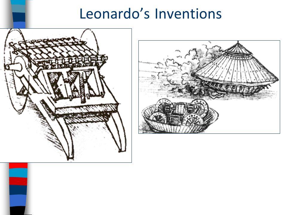 Leonardo's Inventions