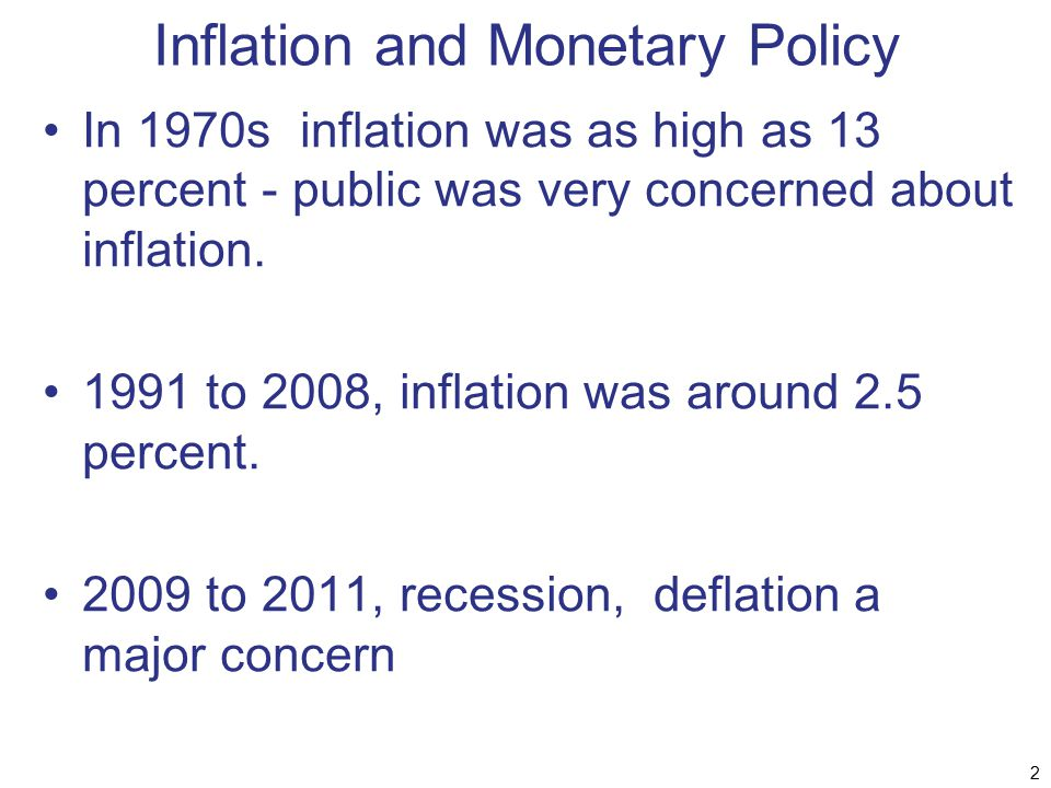 The Phillips Curve Shifts Downward 43 Inflation Rate Unemployment Rate 3% PC built-in expected inflation = 6% 6% E UNUN PC built-in expected inflation = 3% G