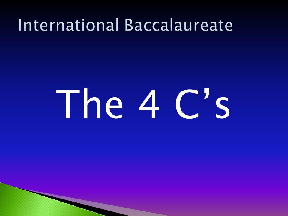 The 4 C's