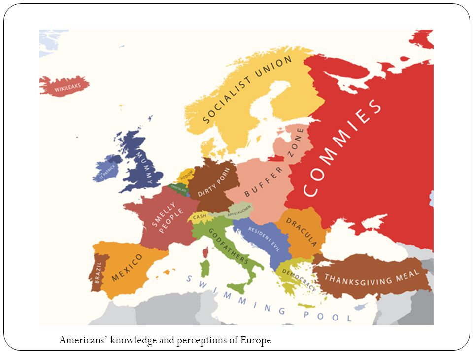 Americans' knowledge and perceptions of Europe