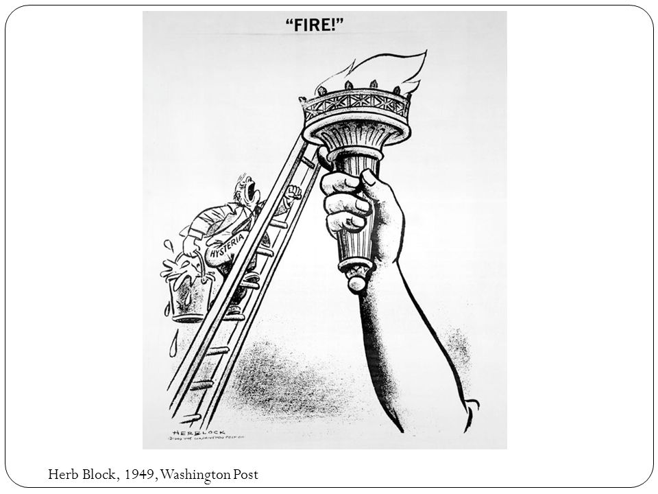 Herb Block, 1951, Washington Post