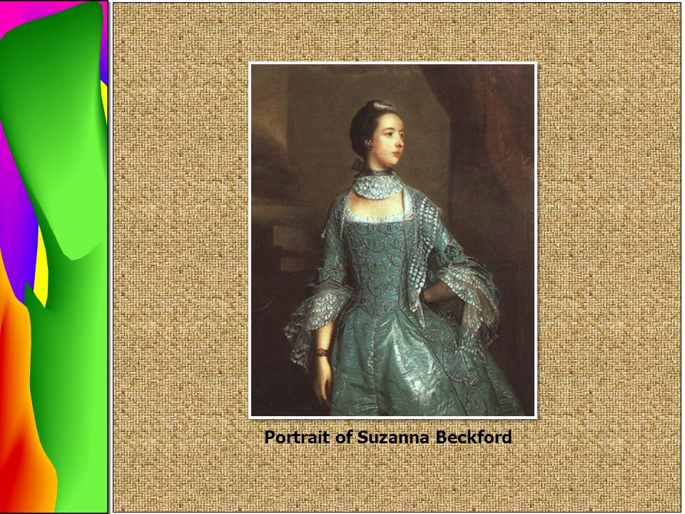 Portrait of Suzanna Beckford