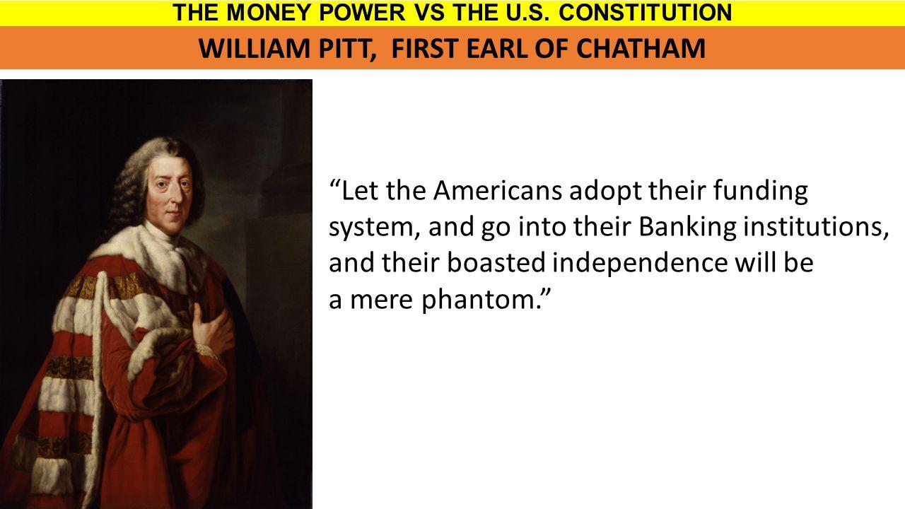 THE MONEY POWER VS THE U.S.