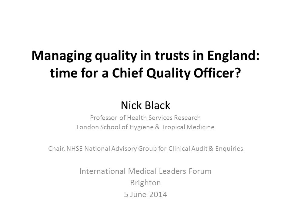 Why a new approach is necessary Need for Trust boards to engage more effectively with quality of their services – Building on the report of the first inquiry, the story it tells is first and foremost of appalling suffering of many patients.