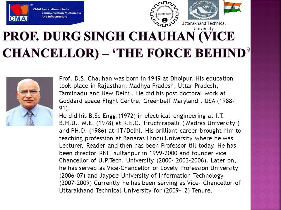 National Uttarakhand Education Awards Organized by – CMAI & Uttarakhand Technical University Uttarakhand Technical University