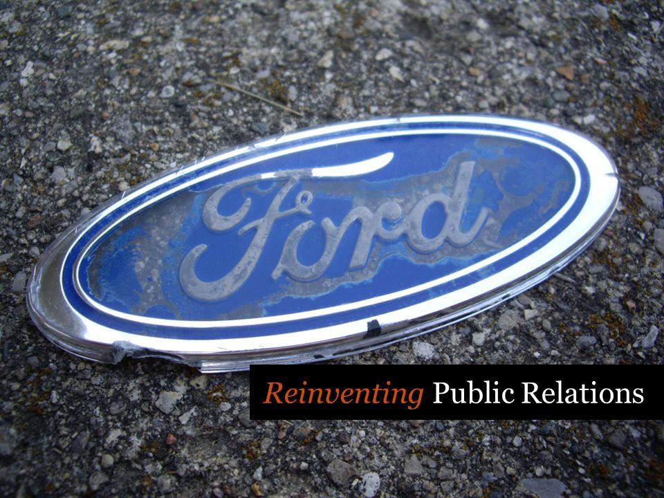 Reinventing Public Relations