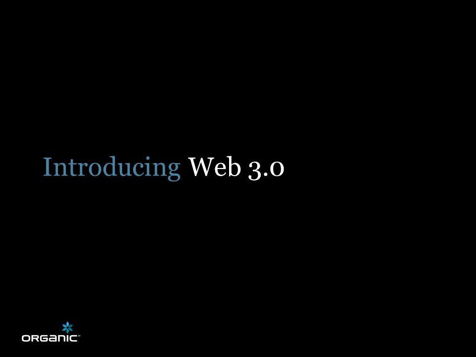 Introducing Web 3.0