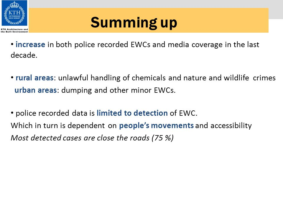 Summing up increase in both police recorded EWCs and media coverage in the last decade.