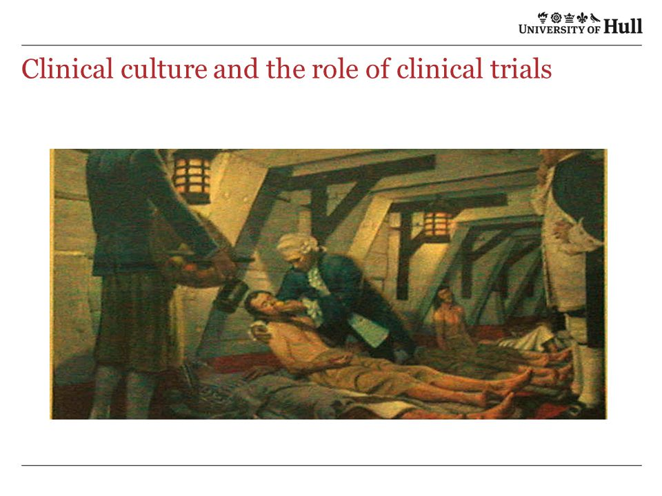 Clinical culture and the role of clinical trials