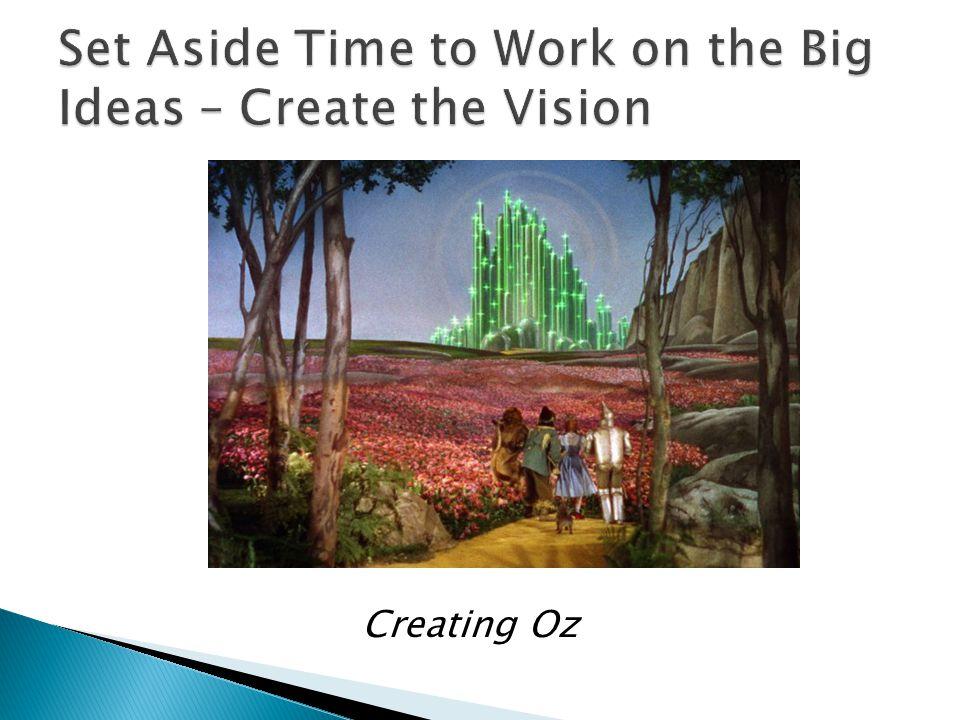 Creating Oz