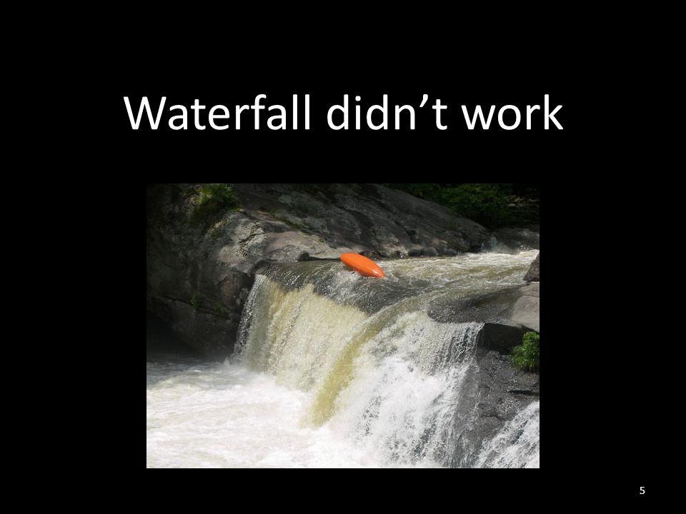 Waterfall didn't work 5
