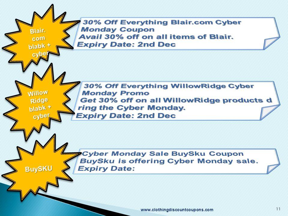 11 Blair. com blabk + cyber Willow Ridge blabk + cyber BuySKUBuySKU