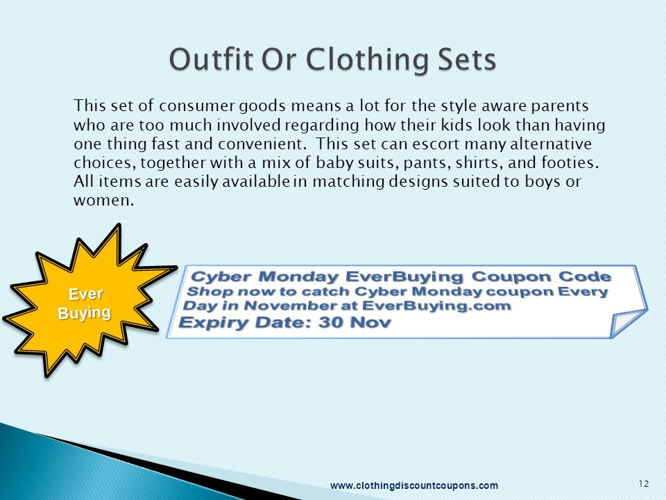 This set of consumer goods means a lot for the style aware parents who are too much involved regarding how their kids look than having one thing fast and convenient.
