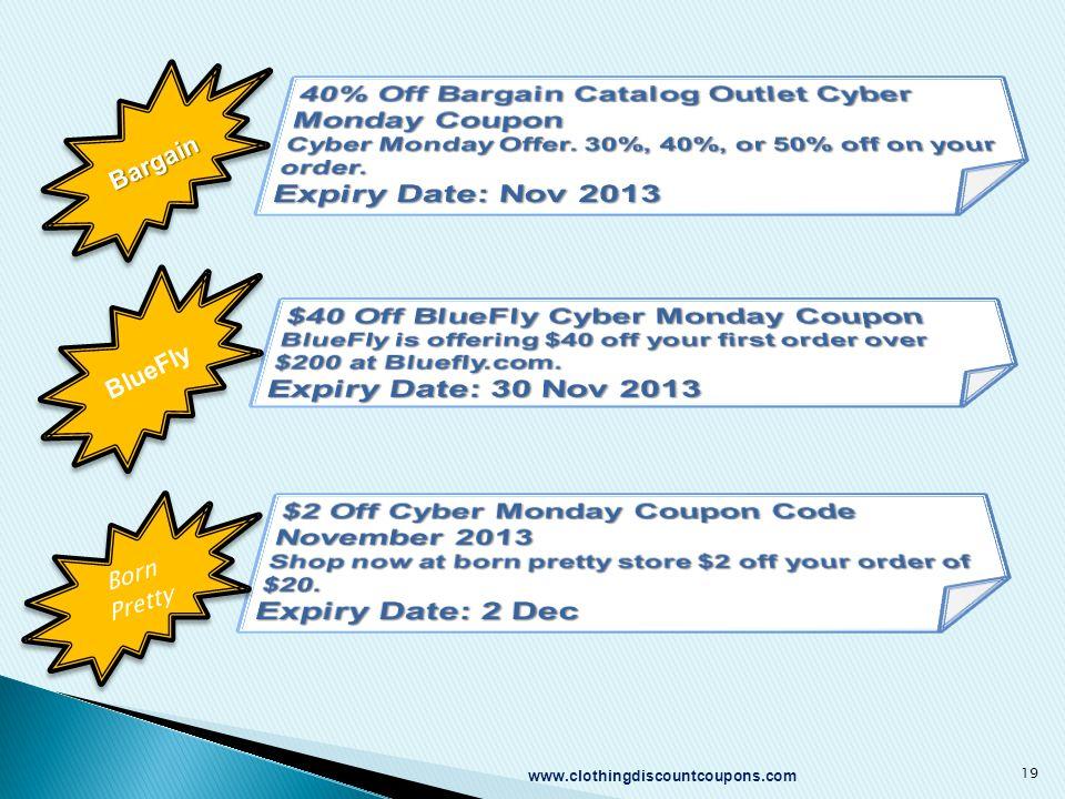19 BargainBargain BlueFly Born Pretty