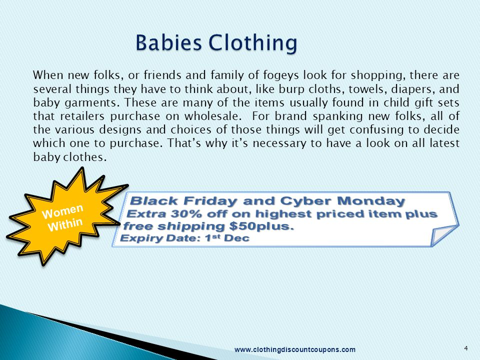 Babies Clothing When new folks, or friends and family of fogeys look for shopping, there are several things they have to think about, like burp cloths, towels, diapers, and baby garments.