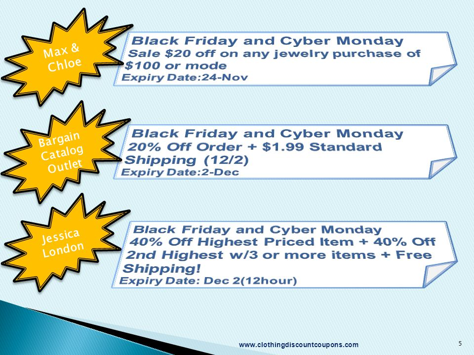 Max & Chloe Bargain Catalog Outlet Jessica London 5 www.clothingdiscountcoupons.com
