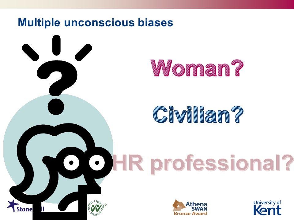 Multiple unconscious biases