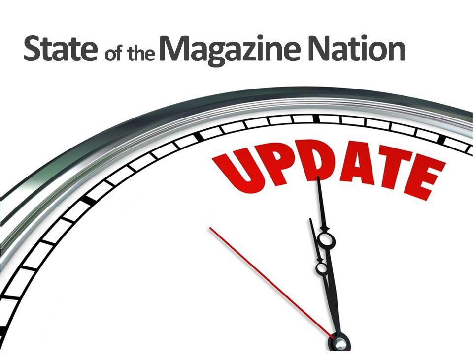 Consumer demand for magazine media is expanding Print + Web + eReaders + Tablets + Smartphones + Video + Social + etc.