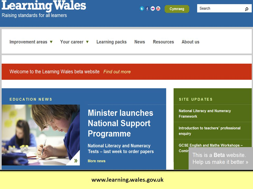 www.learning.wales.gov.uk