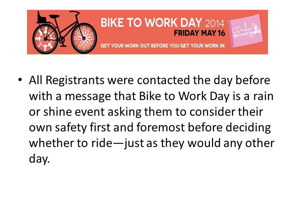 Inclement weather shifted the focus in the days leading up to this year's BTWD event.