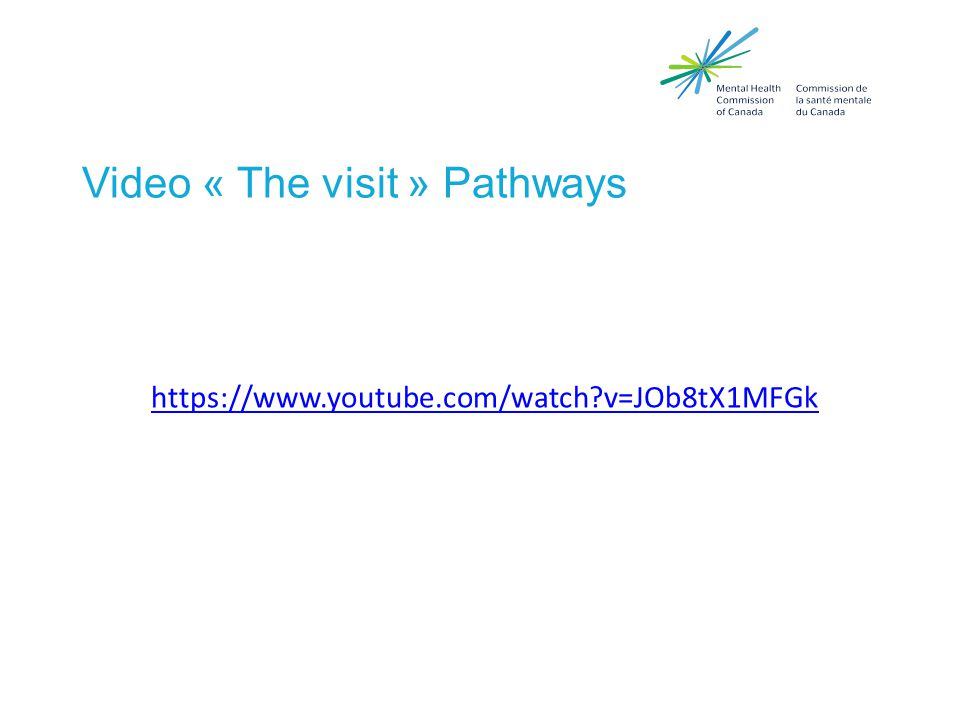 Video « The visit » Pathways https://www.youtube.com/watch v=JOb8tX1MFGk