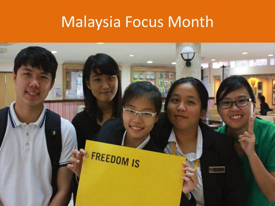 Malaysia Focus Month