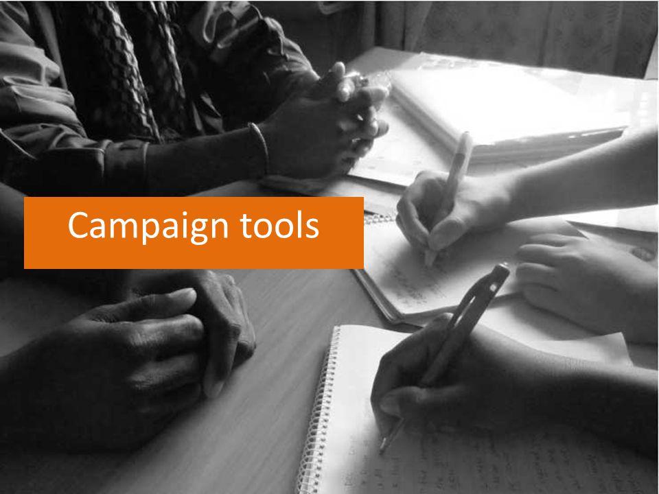Campaign tools
