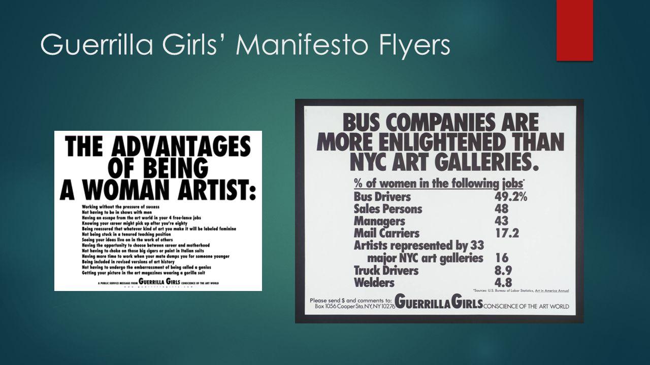 More Manifestos