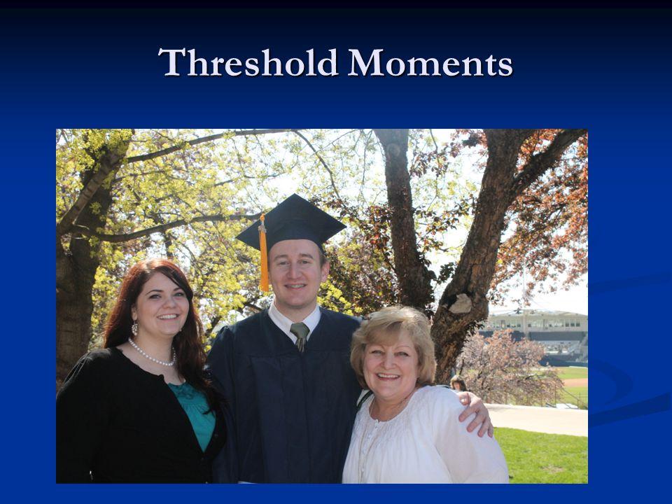 Threshold Moments