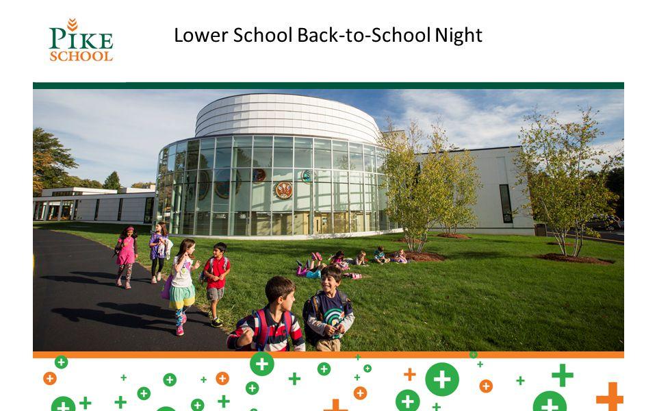Lower School Back-to-School Night